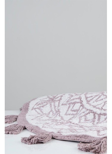 İrya Pamuk Paspas  Layla Beyaz-Stone 100*100 Beyaz
